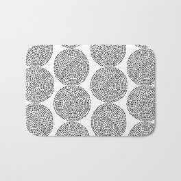 Beech in Black and White Bath Mat