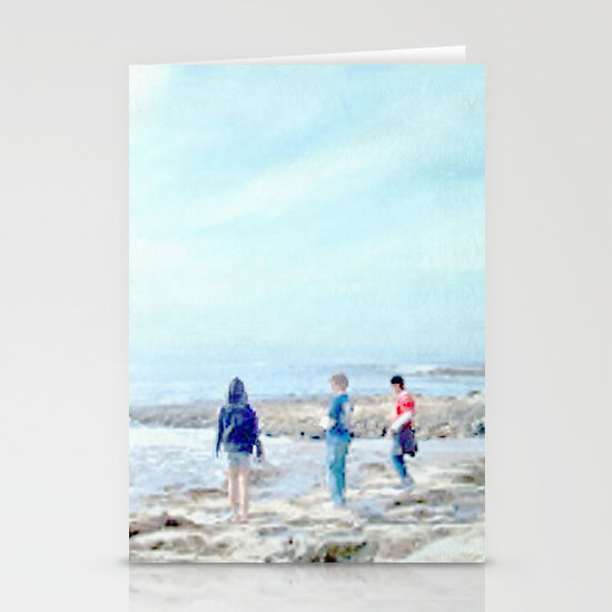surf watchers Stationery Cards
