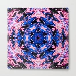 Star Flower of Symmetry 413 Metal Print