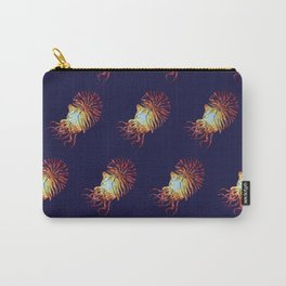 Blue Nautilus pattern Carry-All Pouch