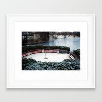 oslo Framed Art Prints featuring Oslo by Infra_milk