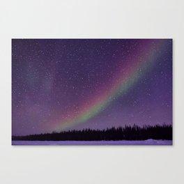 Nighttime Rainbow Canvas Print