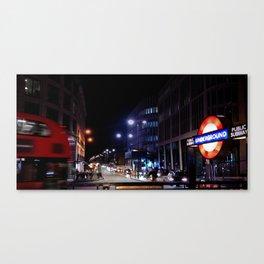 London underground station Canvas Print
