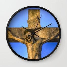 Jesus Statue Wall Clock