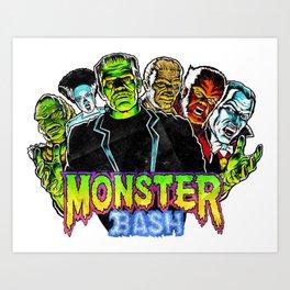 Monster Bash Art Print