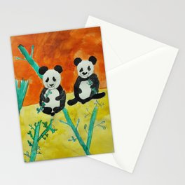 Pandas Stationery Cards