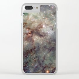 Tarantula Nebula Clear iPhone Case