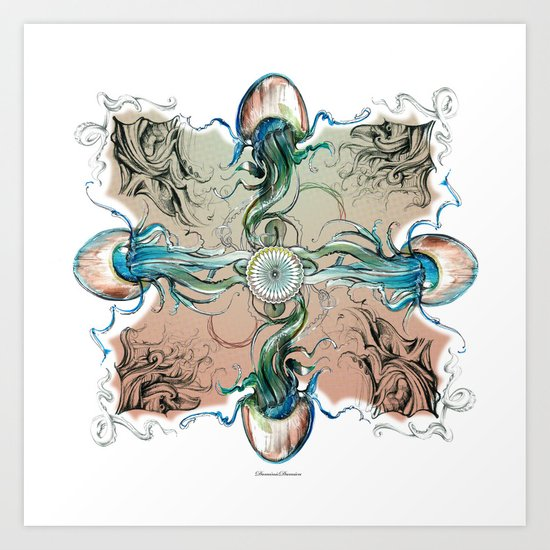 clockwork Art Print