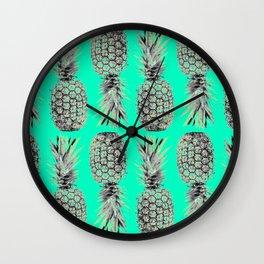 Ananas Anas Pineapple Wall Clock