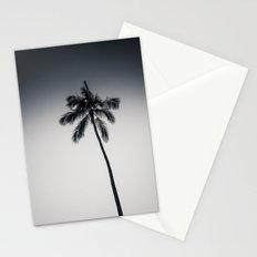 palm tree ver.black Stationery Cards