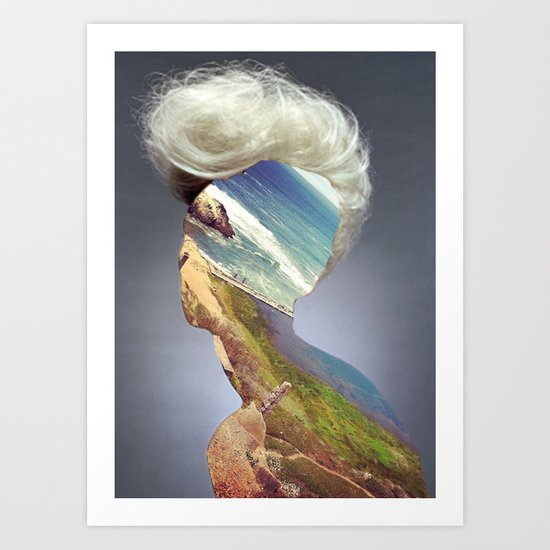 Haircut 3 Art Print
