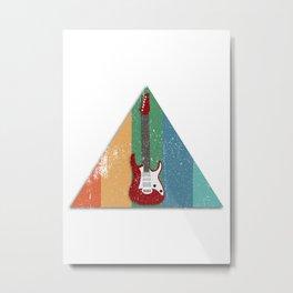 ELECTRIC GUITAR VINTAGE Metal Print