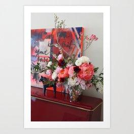 Flower Design 9 Art Print