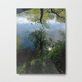 Mystical Mirror Metal Print