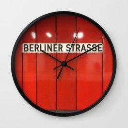 Berlin U-Bahn Memories - Berliner Strasse U7 Wall Clock