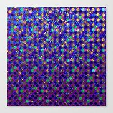 Polka Dot Sparkley Jewels G263 Canvas Print