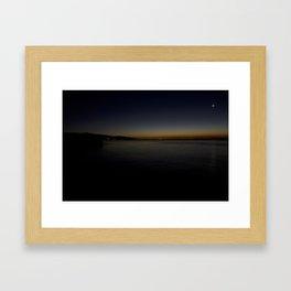 Sun & Moon Framed Art Print