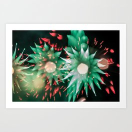 Fireworks - Philippines 7 Art Print