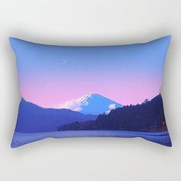 Mount Fuji Sunrise Rectangular Pillow