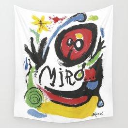 Joan Miró Tres Livres 1957 Artwork for Prints Posters Tshirts Bags Women Men Wall Tapestry