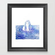 Water Nymph LIII Framed Art Print