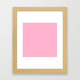 SWEET LILAC PANTONE NEW YORK FASHION WEEK 2018 SPRING 2019 SUMMER Framed Art Print