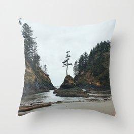 Dead Man's Cove Throw Pillow