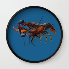 Calling Salvador (colour) Wall Clock