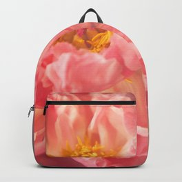Pink Peony Backpack