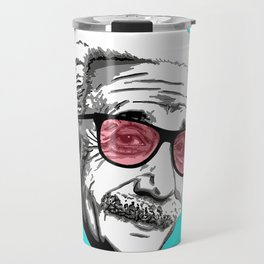 Einstein in summer Travel Mug