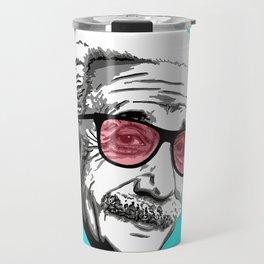 Einstein in summer Travel Mug