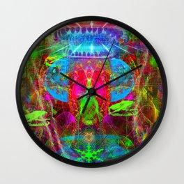 Paleo Scream Invocation Wall Clock