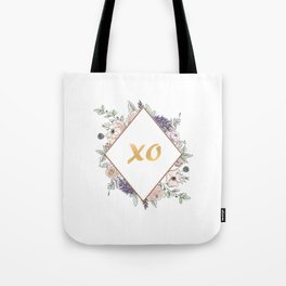 Lettering and Watercolor Flowers #3 Tote Bag