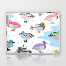Nice Weather For Ducks Laptop & iPad Skin