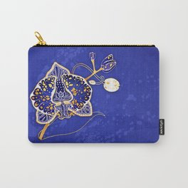 Egyptian Blue :: Orchid Carry-All Pouch