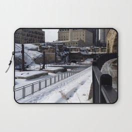 Stone Arch Bridge-Minneapolis, Minnesota Laptop Sleeve