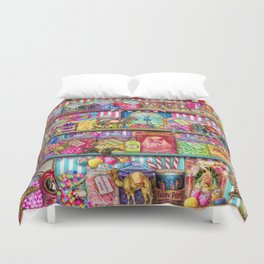 The Sweet Shoppe Duvet Cover