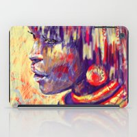 african iPad Cases featuring African portrait by Marta Zawadzka