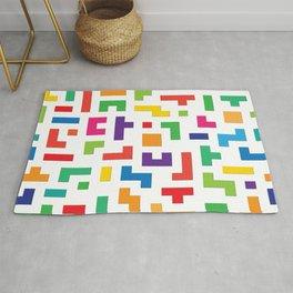 Tetris Blocks Rug