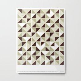 Aesthetic Power Metal Print