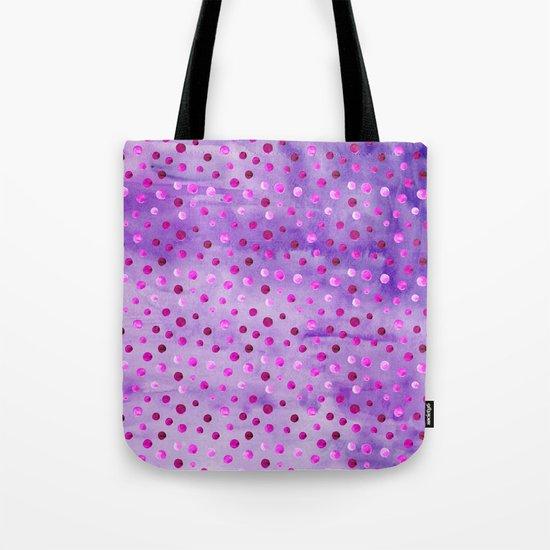 Polka Dot Pattern 02 Tote Bag
