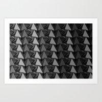 Polly Pattern Art Print