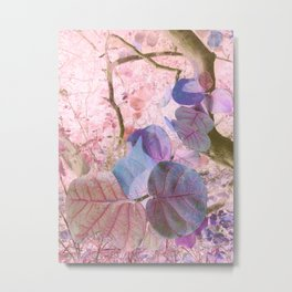 Pink Sea Grape Metal Print