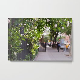 Friday Evening in the West Village Metal Print