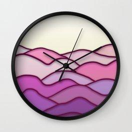 Minimal Landscape 1 Wall Clock
