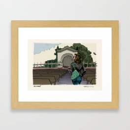 Beach Cop Detectives - 42 - Informant Framed Art Print