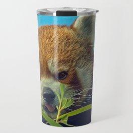 RED PANDA LOVE Travel Mug