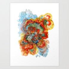 The Things Art Print