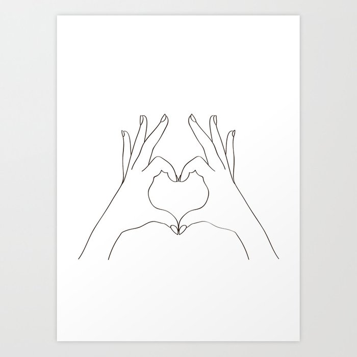 Discover the motif LOVE HEART by Andreas12 as a print at TOPPOSTER