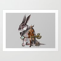 steampunk Art Prints featuring Steampunk by John Vega
